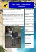 Agia Marina Donkey Rescue Newsletter - Page 2