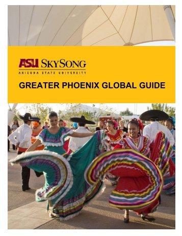 greater phoenix global guide - ASU SkySong - Arizona State ...