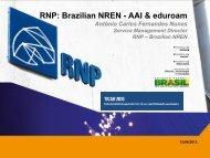 Brazilian NREN - AAI & eduroam - ticar 2013