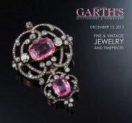 JEWELRY - Garth's Auctions, Inc.