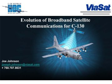 ViaSat - Evolution of Broadband Satellite ... - Lockheed Martin