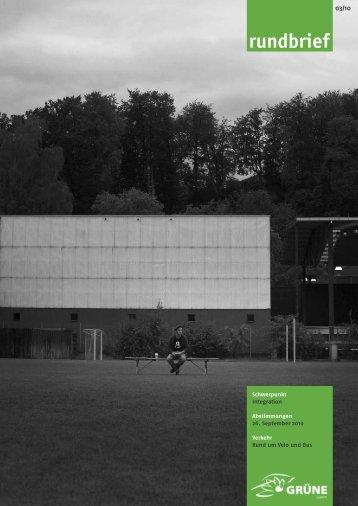 Nr. 03/2010 - Grüne Luzern