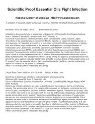 Scientific Proof Essential Oils Fight Infection