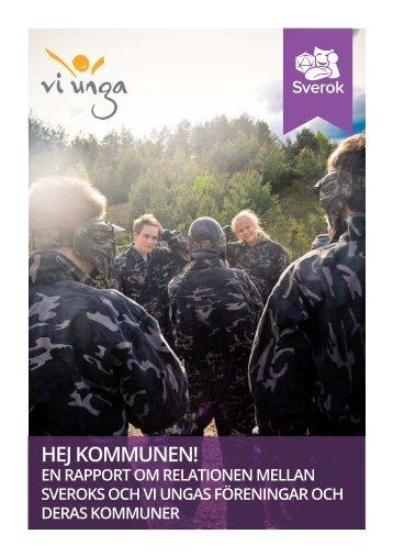 Hej Kommunen, Sverok - Förbundet Vi Unga
