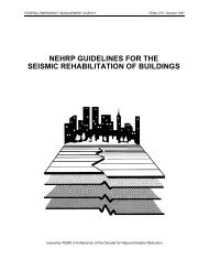 FEMA 273 NEHRP Guidelines for the Seismic Rehabilitation of ...