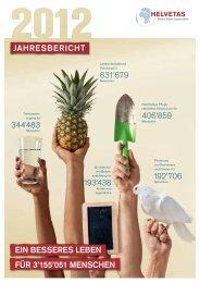 Helvetas Jahresbericht 2012