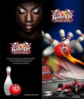 Game On Menu1 - Game On Sports Bar