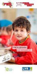 Programm Juli - September 2013 - Max Ernst Museum