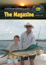 MBGFC Magazine 2013 02 - Moreton Bay Game Fish Club