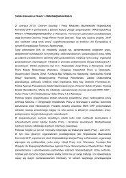 Sprawozdanie z Targów Edukacji Pracy i Przedsiębiorczości