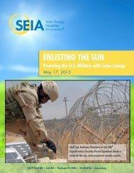 SEIA: Enlisting the Sun - Solar Energy Industries Association