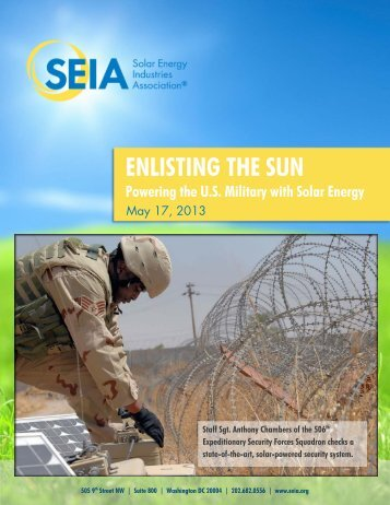SEIA: Enlisting the Sun - Solar Energy Industries Association