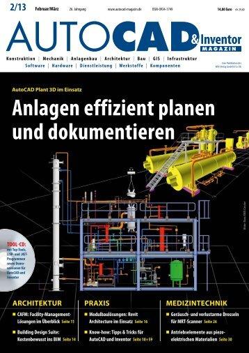 Leseprobe AUTOCAD & Inventor Magazin 2013/02