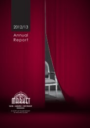 Annual-Report 2013 - Market Theatre