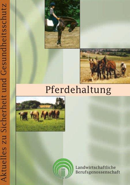Pferdehaltung - SVLFG