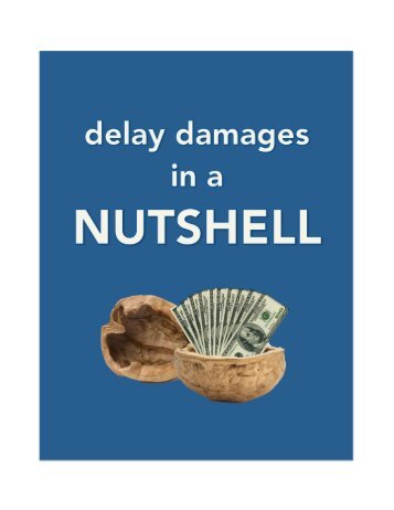 Delay Damages in a Nutshell - Trauner Consulting Services, Inc.