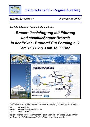 öffnen - Talentetausch - Region Grafing - Talentering.de
