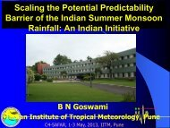 Scaling the Potential Predictability Barrier of the Indian Summer ...