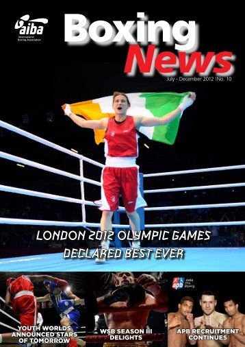 London 2012 oLympic Games decLared best ever - AIBA