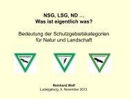 Vortrag Reinhard Wolf: Schutzgebietskategorien - Schwäbischer ...
