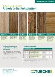 Holz Tusche | Altholz 3-Schichtplatten