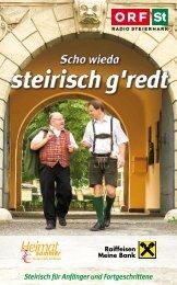 steirisch g'redt - ORF
