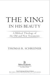 a Biblical theology of the Old and New Testaments