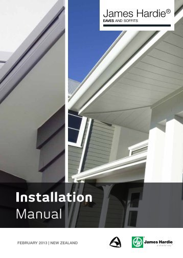 Installation Manual - James Hardie