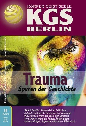 Trauma aus vergangenem Leben - Veranstaltungskalender für ...