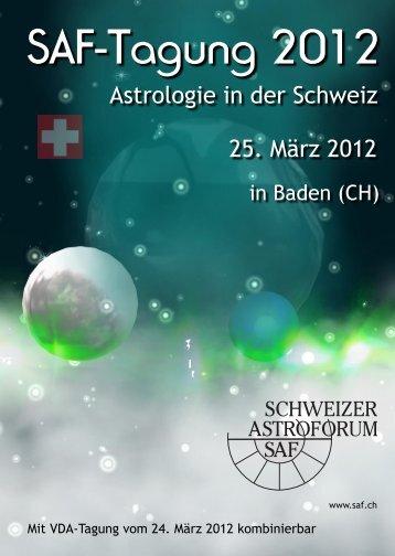 SAF ASTROFORUM SCHWEIZER - Schweizer Astroforum SAF