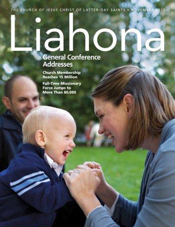 November 2013 Liahona