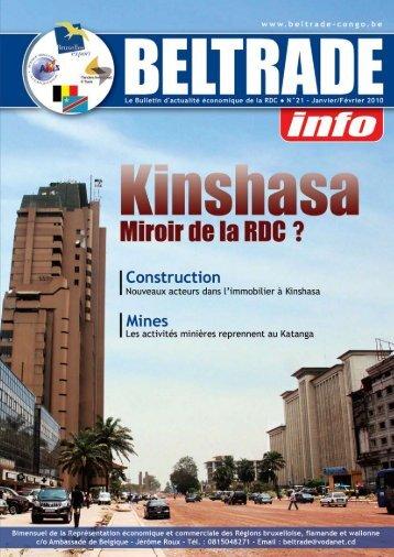 n°21 - janvier-février 2010 - Beltrade-congo