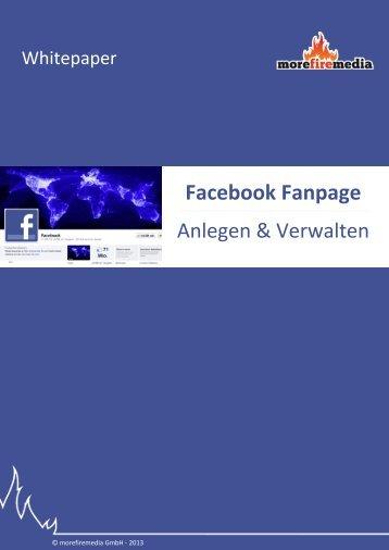 Facebook Fanpage Anlegen & Verwalten - marketingfire