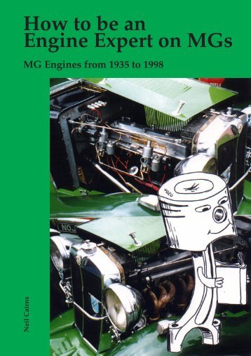 How to be an Engine Expert on MGs - Mg-tabc.org