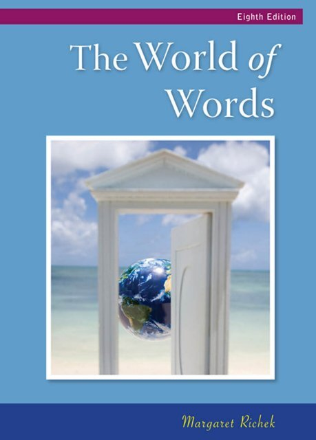 The World Of Words Vocabulary For College Success Elibrary