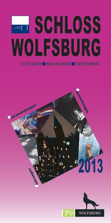 OKTOBER NOVEMBER DEZEMBER - ZeitOrte