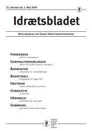 Idrætsbladet nr. 2 maj 2004 - 31. årgang - Sankt Annæ IF