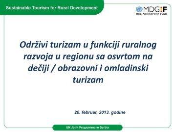 Đački turizam i regulativa vezana za Ministarstvo nauke i prosvete