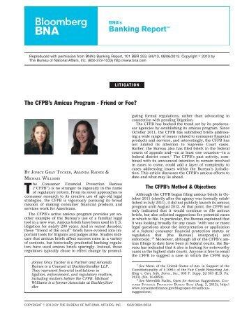 Download PDF - BuckleySandler LLP