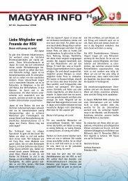 Liebe Mitglieder und Freunde der HSU - handelskammer schweiz ...