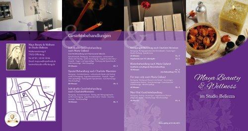 Behandlungen & Preise - Studio Bellezza