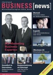 Gesundheit im Unternehmen - mbe marketing business experten