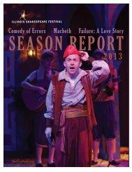 Comedy of Errors Macbeth Failure: A Love Story - Illinois ...