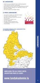 Weiderbildung an der regioun - Commune de Winseler - Seite 3