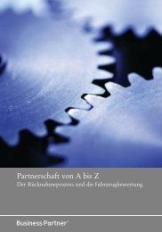Partnerschaft von A bis Z - Businesspartner.de