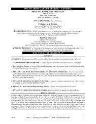 SOCAD Army Career Degree — General - University of Maryland ...