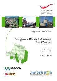 Energie- und Klimaschutzkonzept Stadt Zwickau