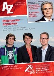 Miteinander anpacken. - SPÖ Steinakirchen