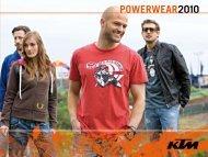 POWERWEAR2010 - KTM Budapest