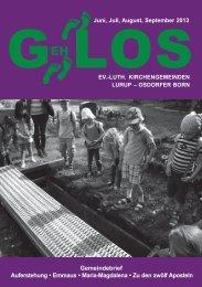 GehLos - Ausgabe Oktober 2013 - lurob.de
